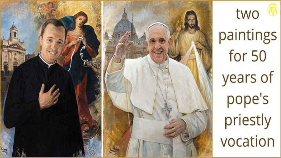 Stamps of Pope Francis