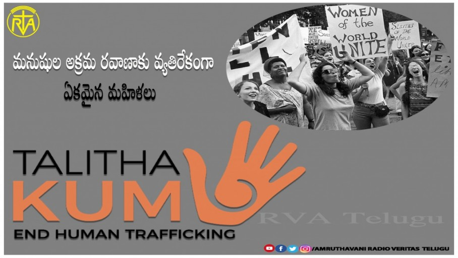 Talitha kum against Human trafficking